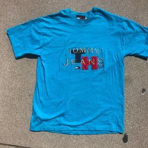 Vintage tommy jeans shirt single stiched
